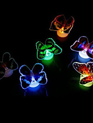 Can Be Pasted Colorful Butterfly Christmas Light (Random Color)