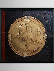 Résumé Souvenir Coin encadrée peinture à l'huile