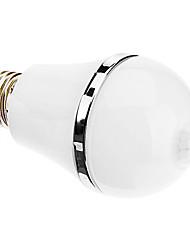 E27 5W 10x5730SMD 360-260LM 6000-6500K Cold White Senor Light LED Globe Bulb (85-265V)