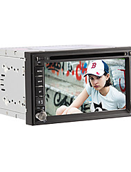 6.2 Inch 2 Din In-Dash Car DVD Player For NISSAN with 3G,GPS,BT,RDS,IPOD,Touch Screen