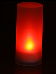 Colorful Candle Light Colorful Christmas Night Light (Random Color)