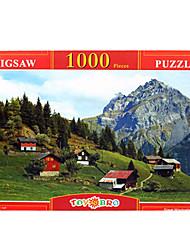 Suisse Paysage imprimés 1000 pièces
