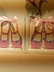 """6 """"Pays tyle Dancing Shoes Rose Style 1 paire Serre-livres"""