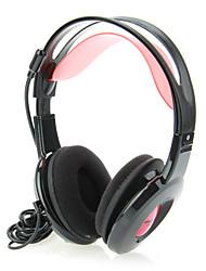 Sômica DT-2112 estéreo de 3,5 mm Super-Bass Headphone Com Microfone Mic