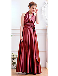 Women's Halter High Waist Maxi Dress