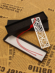 Silver Stainless Steel Cut-out Bookmark