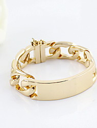 Fashion Alloy Gold Plated Women's Bracelet