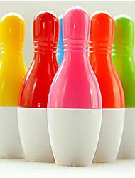 Color del caramelo en forma de bolos bolígrafo (color al azar)