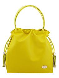 Giallo di Freyja donne Imitate Agnello Colorful Candy Bag