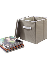 Solid Folded Children Storage Box With Cover