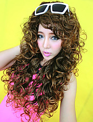 Stylish Fluffy Wave Long Hair Wig(Blonde)