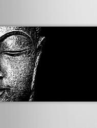 Stretched Canvas Print Art Still Life Head of Buddha by WhoArtNow