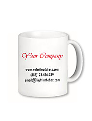 Personalized Business Style Mugs (Assorted Colors)