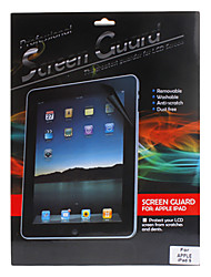 Professionele hoge transparantie LCD Film Gurad set met een reinigingsdoekje voor de iPad Air