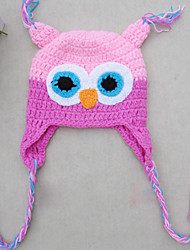 Children's Owl Pattern Hat