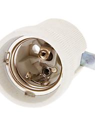 E27 Céramique Support de lampe (7 Style)
