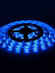 Wasserdicht 5M 60x5050SMD 60W 3000-3600lm Blue Light LED-Streifen mit 12V 5A Adapter