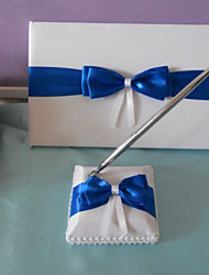 Guest Book Pen Set Satin Beach Theme Classic ThemeWithBow