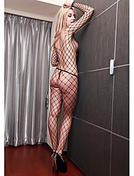 Mulheres Big Fishnet Plus Size Lingerie