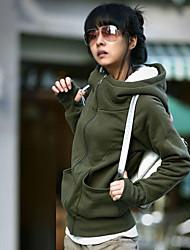 Manteau à capuche épais des femmes