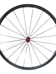 Farsports-700c carretera 24mm Full Carbon Tubular Carretera Ruedas de bicicletas