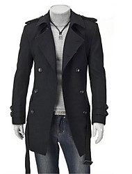 Noir Manteau du vent All-Match FSNZ hommes