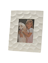 "11""White Color Family Style Polyresin Picture Frame"