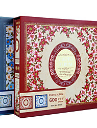 "Papel de cubierta de flores de la India Estilo 3 ""* 5"" Álbum de fotos (520 Pocket)"