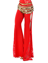 Dancewear Crystal Cotton Belly Dance Bottom For Ladies