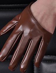 Polslengte Vingertoppen Imitatieleer Algemene functie & Werkhandschoenen/Feest/uitgaanshandschoenen Handschoen