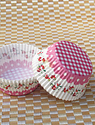 Flower Design Cupcake Wrappers - Set of 50
