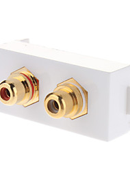 Keystone Jack Modular RCA Female White