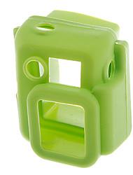 Cas de protection en silicone pour Gopro Hero 3 (vert)