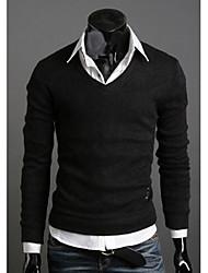 Men's Casual Shirts , Knitwear Casual DJJM