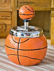 Fashion Novelty Bule Ball Ceramics Ashtray