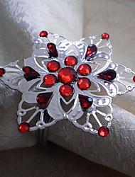 Snowflake Napkin Ring, Acrylic