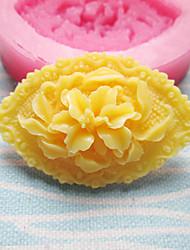 Olhos em forma de moldes de silicone de flor Fondant Moldes Sugar Craft Ferramentas flores de resina molde moldes para bolos