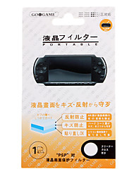 LCD Screen Protector and Cleaning Cloth for PSP 2000 3000