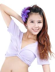 Dancewear Cotton Belly Dance Top For Ladies