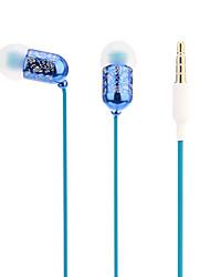 ULDUM qualité de mode stéréo intra-auriculaires avec micro pour MP3, MP4, téléphone mobile
