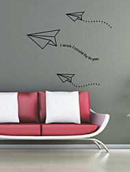 Words Fly to You Wall Stickers