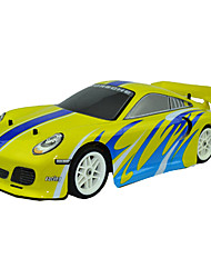 1/10 4WD Elektro Brushed Routing RC Car (Gelb)