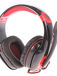 SADES SA-905 USB2.0 7.1 Sound Effect Over-Ear Gaming Headphone with Mic and Remote for PC