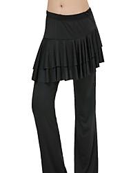 Dancewear Einfache Modal Solid Color Yoga-Hosen für Damen (weitere Farben)