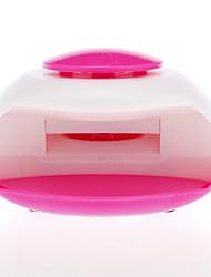 Elektrische UV-lamp wind automatische drukgeactiveerde nageldroger (voeding via 3 AAA-batterijen, willekeurige kleur)