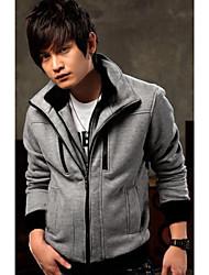 Men's Casual Shirts , Cotton Blend Casual DJJM