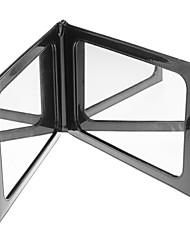 Bolsa em couro de alta qualidade PU Preto Mesa Espelho