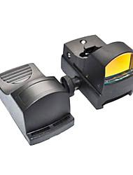 Профессиональный Тактический 1x22 Airsoft QD Автояркость Красный точка зрения Область Подходит ткача 20mm основание крепления
