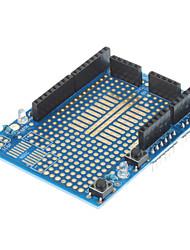 protótipo escudo + mini-placa de ensaio para (para arduino) (funciona com oficial (para Arduino) placas)