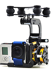 ST-304 Brushless Camera Gimbal for Gopro Hero 3 DJI Phantom w/ Motors & Controller PTZ